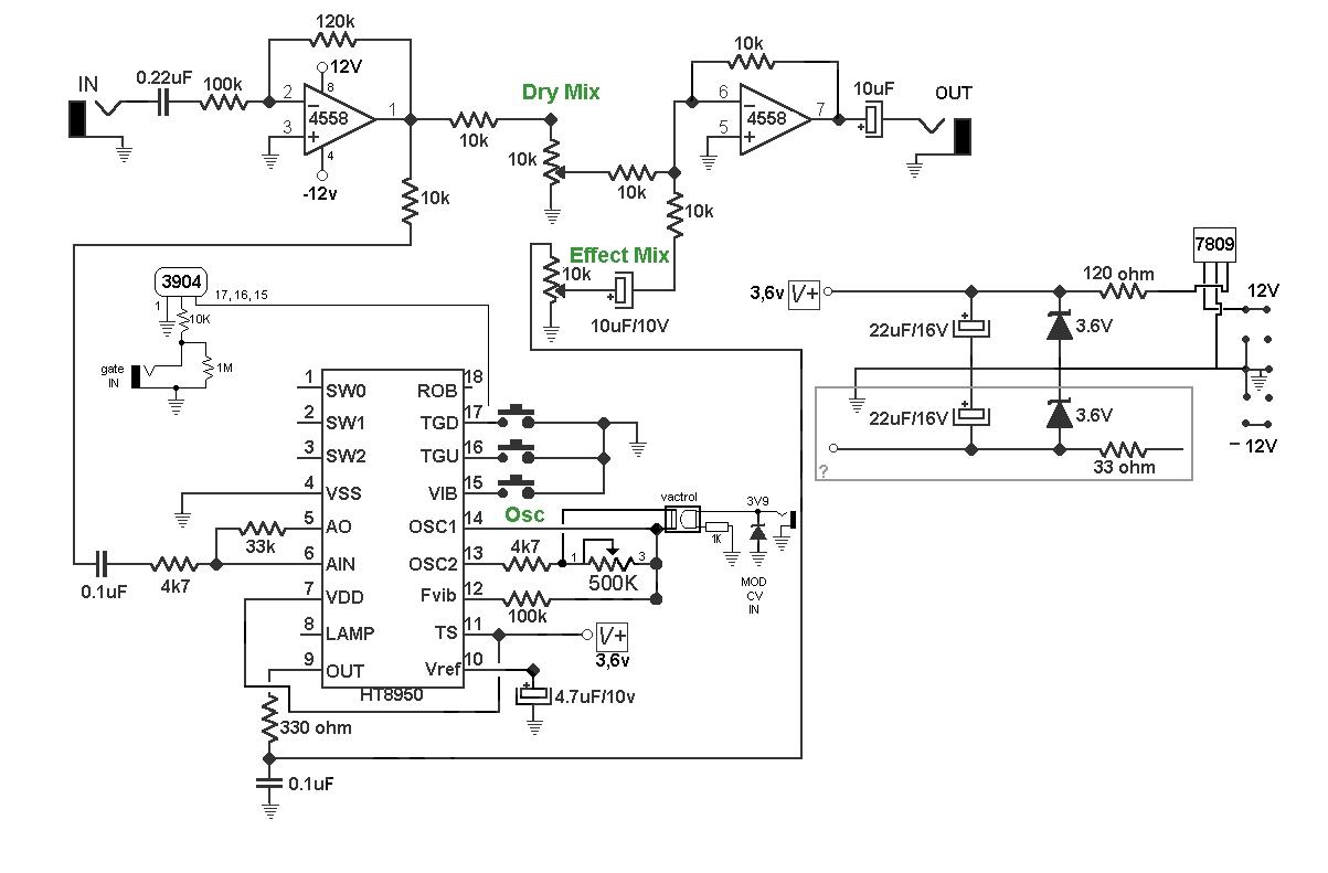 C 12ax7 Preamp Circuit Safetyvalve Module Tube Gain Eqschematic Wind Machinewind Machine Noise Generator Cv Mod
